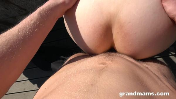 Grand Mams – Looking For Some Mature Sluts In Public