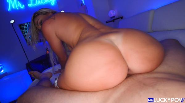 Mr  Lucky POV – Adria Rae Insanely Hot Bubble Butt Babe