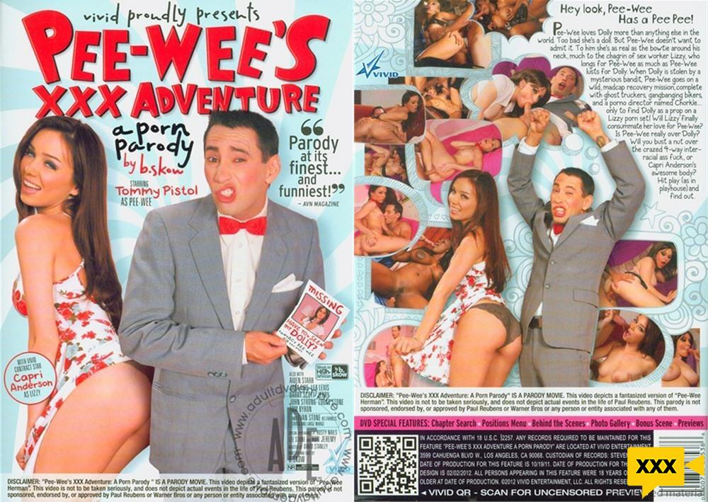 [18+] Pee-Wee's XXX Adventure: A Porn Parody (2020) HD 787MB