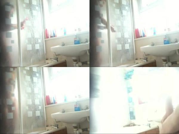 174438804 0897 spy teen girl taking a shower - Teen Girl Taking A Shower / SpyCam Sex Video
